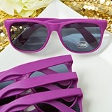 FashionCraft Perfectly Plain Collection Fashion Purple Sunglasses