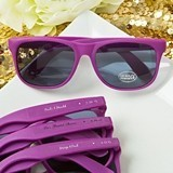 Personalized Expressions Collection Fashion Purple UV400 Sunglasses