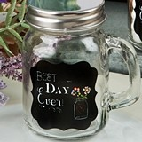 FashionCraft Sayings Collection 'Best Day Ever' Glass Mason Jar