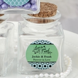 FashionCraft Personalized Expressions Square Glass Treat Jar
