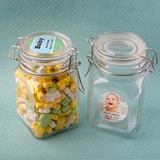 Personalized Expressions Collection Large Apothecary Jar (Baby Shower)