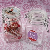 Personalized Expressions Collection Large Apothecary Jar w/ Hinged Lid