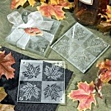 FashionCraft Fall Themed Coasters (Set of 2)