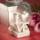 FashionCraft Brilliant LOVE-Design Candleholder