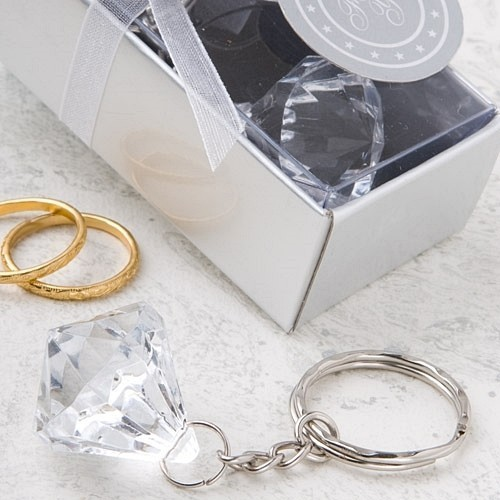 FashionCraft Clear Diamond Collection Diamond Design Key Chain