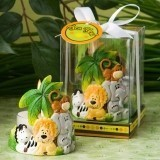 FashionCraft Jungle Critters Collection Candle Favor