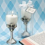 FashionCraft Cross Design Champagne Flute Candle Holder