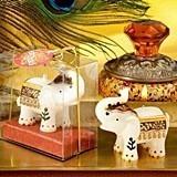 FashionCraft Good Luck Wishes Elephant-Shaped Candle
