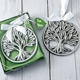 FashionCraft Tree of Life Pewter-Finish Hanging Ornament
