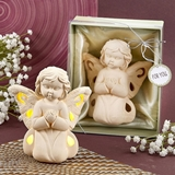 FashionCraft Guardian Angel Design Light Up LED Praying Angel Figurine