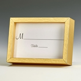 Gold-Finish Wood 2x3 Picture Frame/Place Card Holders (Set of 60)