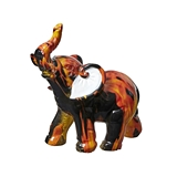 FashionCraft Miniature Flame Design Design Elephant Figurine