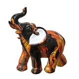 FashionCraft Small-Size Flame Design Design Elephant Figurine