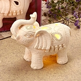 FashionCraft Good Luck Indian Elephant with Light Up LED
