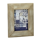 FashionCraft Distressed Wood Wide Border 5x7 Frame