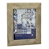 FashionCraft Distressed Wood Wide Border 8x10 Frame