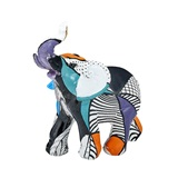 FashionCraft Miniature Pop Art Deometric Design Elephant Figurine