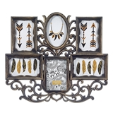 FashionCraft Frame Wall Collage in Bronze Color with 6 Openings