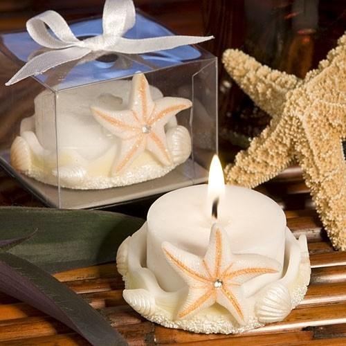 FashionCraft Cute Beach-Themed Starfish Design Tealight Holder