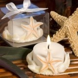 FashionCraft Cute Beach-Themed Starfish Design Tealight Holder
