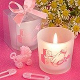 FashionCraft 'Favor Saver' Collection Baby Girl-Themed Candle Holder