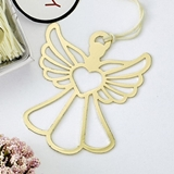 FashionCraft Book Lovers Collection Gold-Metal Guardian Angel Bookmark