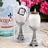 FashionCraft Tres Chic Eiffel Tower Candle Holder