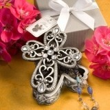 Cross Design Curio Box From The Heavenly Favor Collection