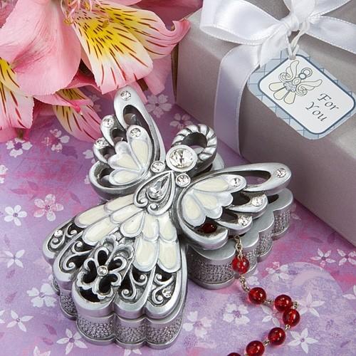 FashionCraft Angel Design Trinket Box