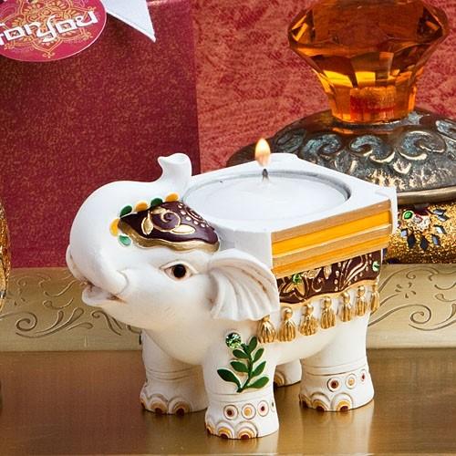 FashionCraft Good Luck Elephant Candle Holder