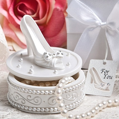 FashionCraft Cinderella's Slipper High Heel Shoe Design Curio Box