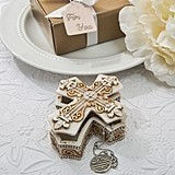 FashionCraft Vintage Design Cross-Shaped Trinket and Jewelry Box