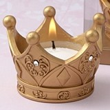FashionCraft Royal Golden Crown Tea Light Candle