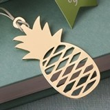 "FashionCraft ""Warm Welcome"" Pineapple Gold-Metal Bookmark"