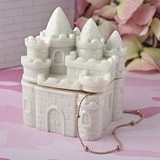 Fairytale Castle Covered Trinket Box from Gifts by FashionCraft
