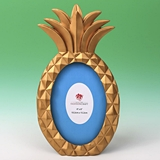 FashionCraft Gold Pineapple Shaped 4x6 Frame