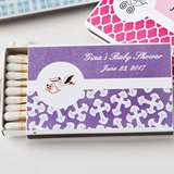 Personalized Expressions Collection 50 Matchboxes (Baby Shower)