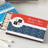 Fashioncraft Personalized Expressions Collection Pack of 50 Matchboxes