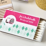 Personalized Expressions Collection 50 Matchboxes (Birthday)
