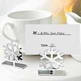 FashionCraft Cutout Snowflake Design Photo/Place Card Holder