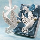FashionCraft Dove of Peace with Olive Branch Hanging Ornament