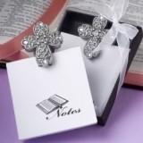 FashionCraft Stunning Cross-Embellished Memo Pad
