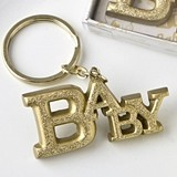 FashionCraft Luxurious Gold Baby Themed Key Chain