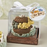 FashionCraft Adorable Noah's Ark Themed Tea Light Holder