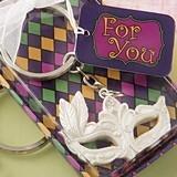 FashionCraft Mardi Gras Mask Theme Key Chain