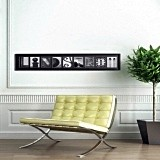 Custom-Designed Personalized Architectural Name Frame