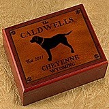 Personalized Cabin Series Humidors (9 Designs)