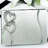Hortense B Hewitt Personalized Sparkling Love Guest Book