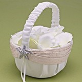Hortense B Hewitt Destination Romance Collection Flower Girl Basket