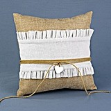 Hortense B Hewitt Rustic Romance Collection Ring Bearer Pillow